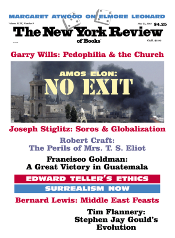 Image of the May 23, 2002 issue cover.