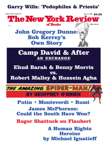 Image of the June 13, 2002 issue cover.