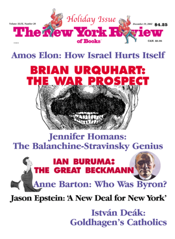 Image of the December 19, 2002 issue cover.