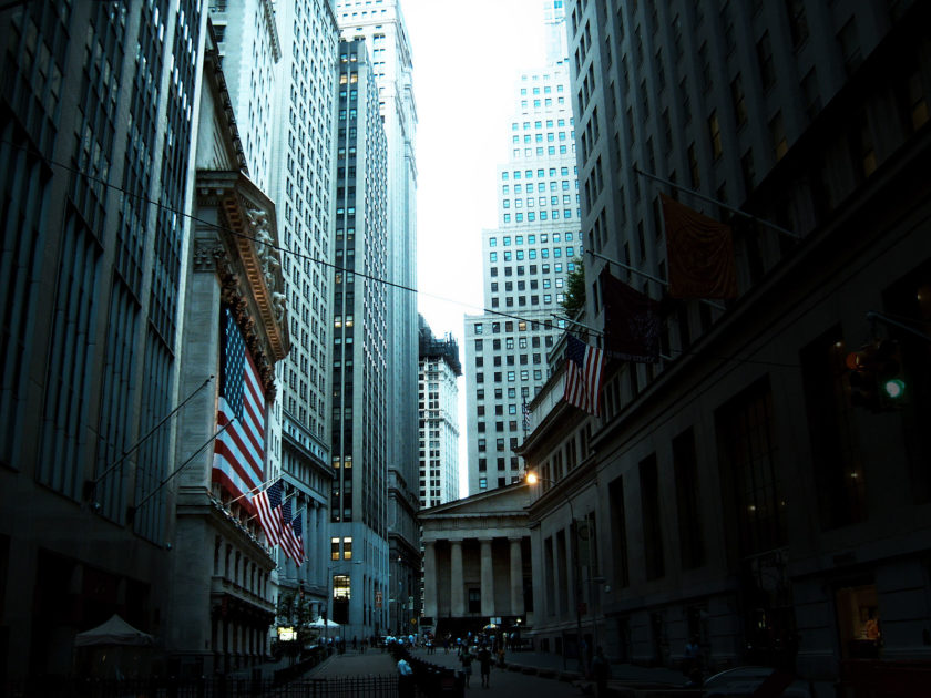 Wall Street, New York City, 2008