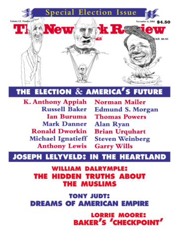Image of the November 4, 2004 issue cover.