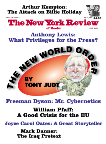 Image of the July 14, 2005 issue cover.