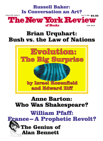 Image of the May 11, 2006 issue cover.