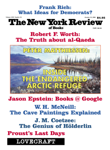 Image of the October 19, 2006 issue cover.