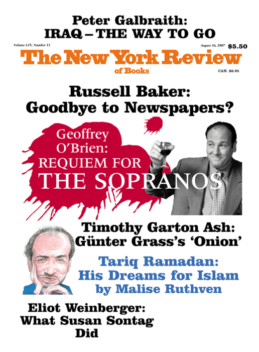 goodbye to newspapers by russell baker the new york review of  also in this issue