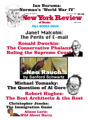 Image of the September 27, 2007 issue cover.
