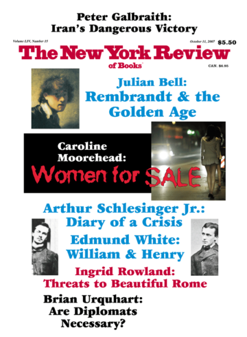 Image of the October 11, 2007 issue cover.