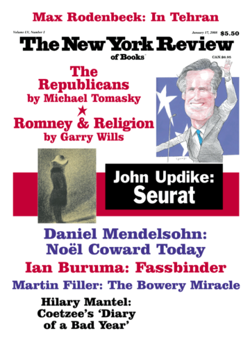 Image of the January 17, 2008 issue cover.
