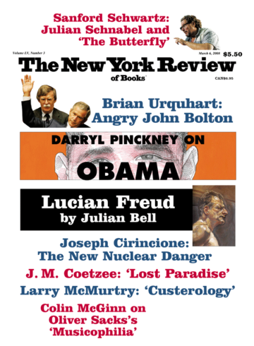 Image of the March 6, 2008 issue cover.