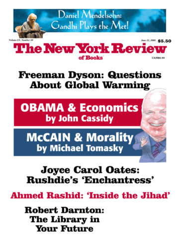Image of the June 12, 2008 issue cover.