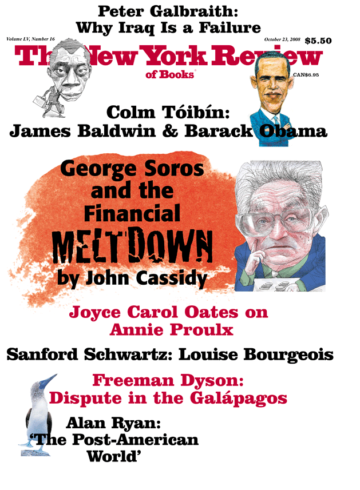 Image of the October 23, 2008 issue cover.