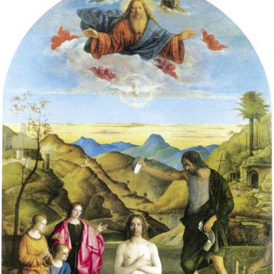 Giovanni Bellini: Baptism of Christ, 1500–1502