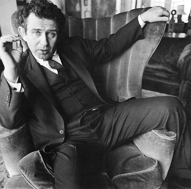 Norman Mailer, Brooklyn, 1963; photograph by Diane Arbus