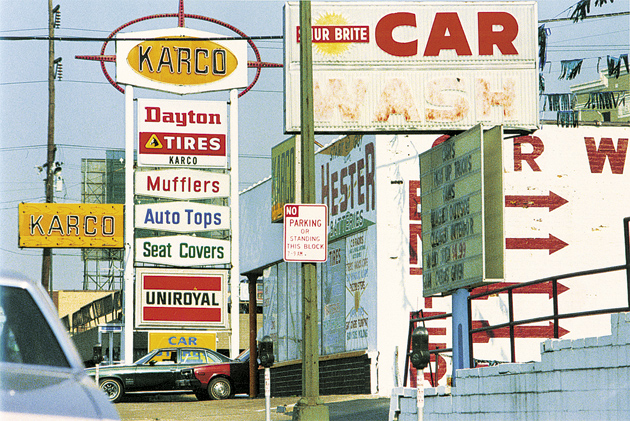 William Eggleston: Karco, 1983–1986; from 'William Eggleston: Democratic Camera: Photographs and Video, 1961–2008,' a recent exhibition at the Whitney Museum of American Art. The catalog of the exhibition is published by the Whitney Museum and Haus der Kunst, Munich, in conjunction with Yale University Press.