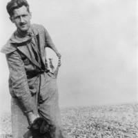 George Orwell, Walberswick Beach, Suffolk, 1934