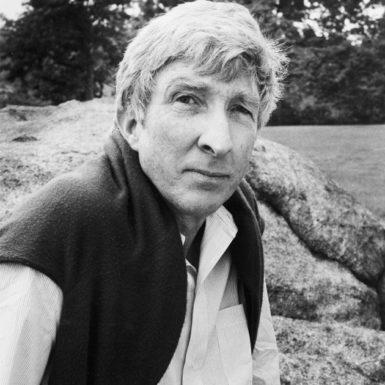 John Updike, Massachusetts, 1984; photographs by Dominique Nabokov