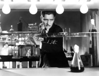Ronald Colman as a doctor torn between conflicting goals in medicine and scientific research in the 1931 film Arrowsmith, adapted from Sinclair Lewis's 1925 novel. According to Steven Shapin in The Scientific Life, 'Generations of American scientists traced their conceptions of scientific research and their vocation for science to their youthful reading of Arrowsmith.'
