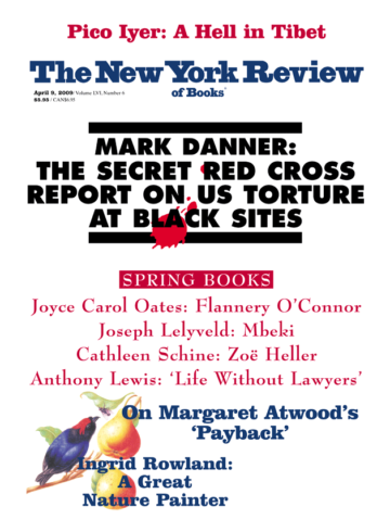Image of the April 9, 2009 issue cover.