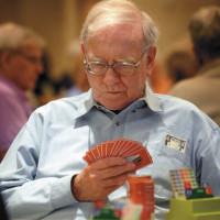 Warren Buffett at the Nebraska Regional Bridge Tournament, Council Bluffs, Iowa, August 5, 2006