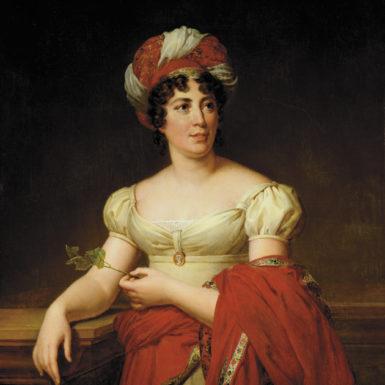 Madame de Staël; portrait by Anne-Louis Girodet de Roucy-Trioson