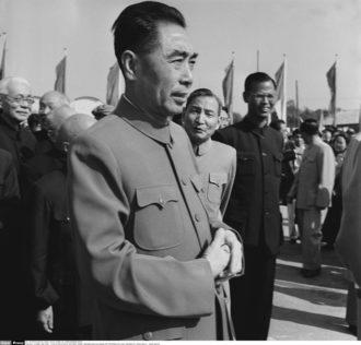 Chinese Premier Zhou Enlai, Beijing, 1956