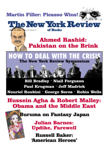 Image of the June 11, 2009 issue cover.