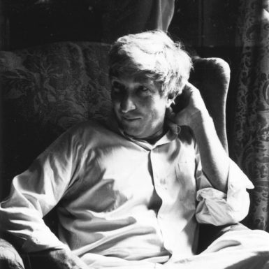 John Updike, Beverly Farms, Massachusetts, 1984; photograph by Dominique Nabokov