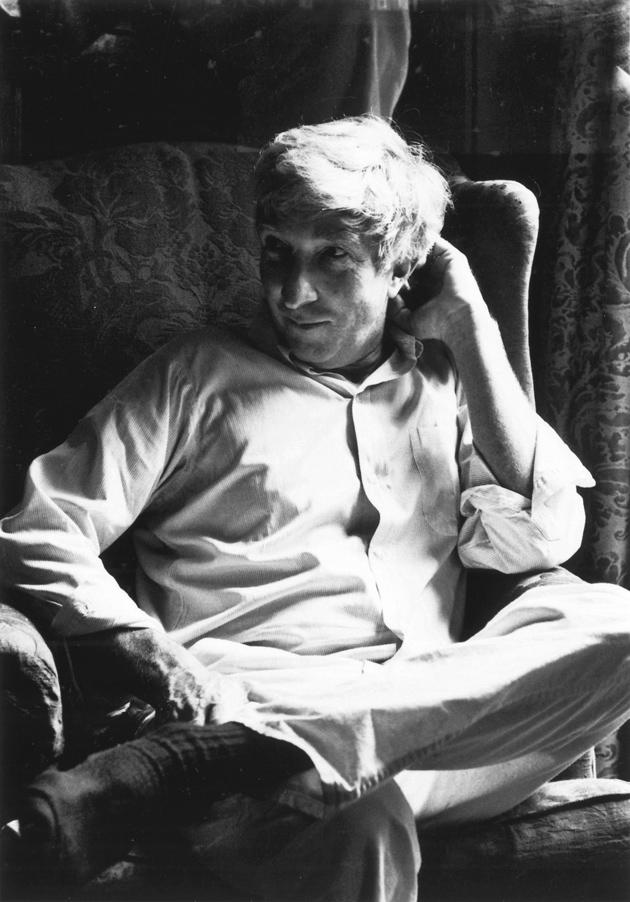 John Updike, Beverly Farms, Massachusetts, 1984; photograph by Dominique Nabokov