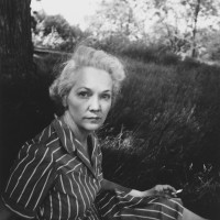 Katherine Anne Porter at Yaddo, Saratoga Springs, New York, 1940; photograph by Eudora Welty