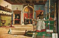 Vittore Carpaccio: Saint Augustine in His Study, circa 1502–1507