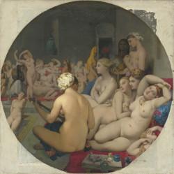 Jean-Auguste-Dominique Ingres: <i>The Turkish Bath</i>, 1862