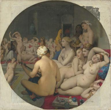 Jean-Auguste-Dominique Ingres: The Turkish Bath, 1862