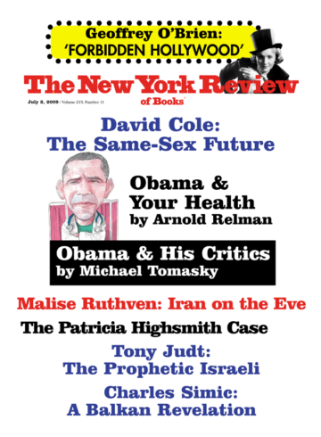 Image of the July 2, 2009 issue cover.
