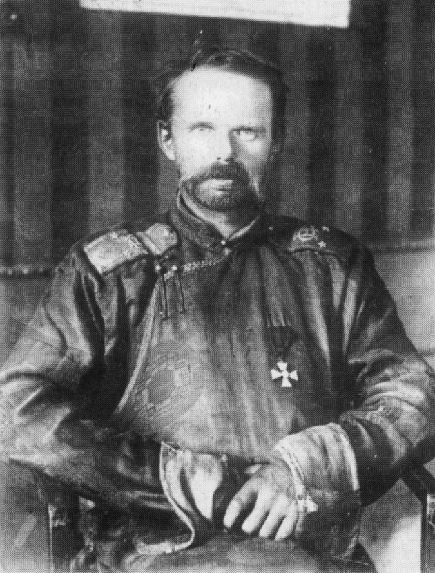 Baron Ungern-Sternberg, 'the last khan of Mongolia,' circa 1920