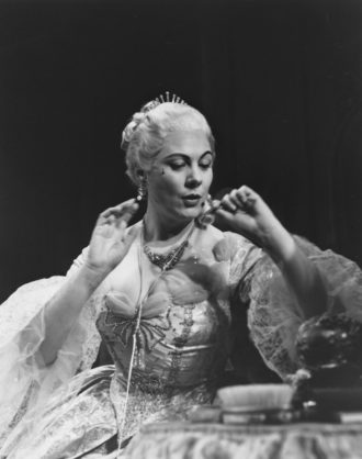 Renata Tebaldi in the title role of Puccini's Manon Lescaut, 