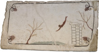 Fresco from the Tomb of the Diver, near Paestum, circa 480–470 BCE
