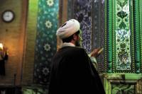 Inside the Jamkaran mosque near Qom, Iran, December 2008