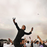 TEHRAN: Massive protest against  Ahmadinejad