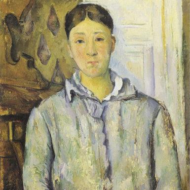 Paul Cézanne: Madame Cézanne in Blue, 1888-1890