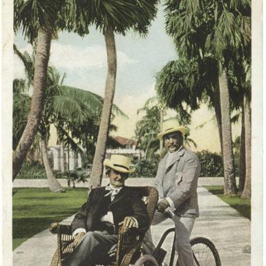 Joseph Jefferson, Palm Beach, Florida, circa 1904