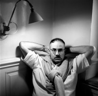 James Ellroy, 1990s; photograph by Richard Mildenhall
