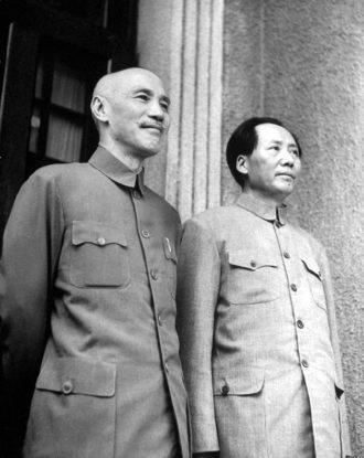 Chiang Kai-Shek And Mao Zedong