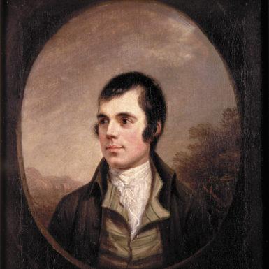 Robert Burns, 1787; portrait by Alexander Nasmyth
