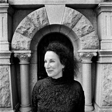 Margaret Atwood, Mount Pleasant Cemetery, Toronto, 1999. This photograph is on view in the exhibition 'Canadian Content: Portraits by Nigel Dickson,' at the Royal Ontario Museum's Institute for Contemporary Culture, Toronto, through March 21, 2010.