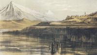 Edward Lear: Tepeleni, Albania, circa 1848–1849; from Edward Lear in Albania