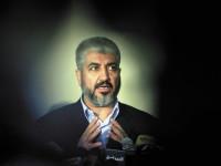 Hamas leader Khaled Meshaal, Cairo, September 6, 2009