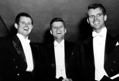 Edward Kennedy, John F. Kennedy, and Robert Kennedy, Washington, D.C., February 1958