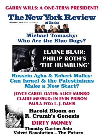 Image of the December 3, 2009 issue cover.