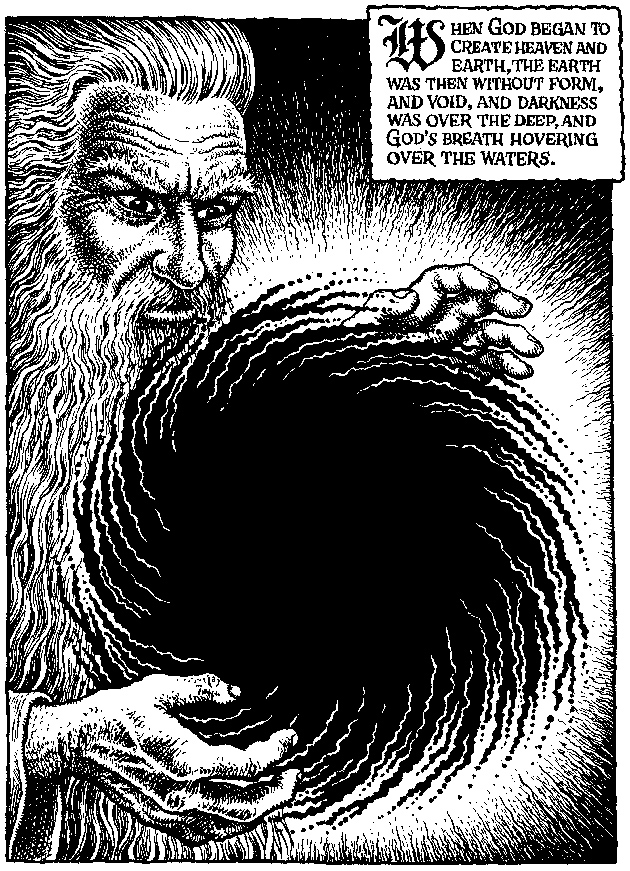 Yahweh Meets R Crumb By Harold Bloom The New York