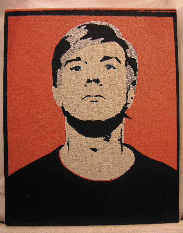 Andy Warhol's Red Self Portrait, 1964, owned by Anthony d'Offay